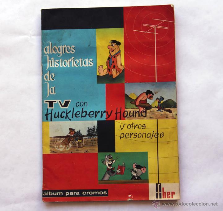 ALBUM COMPLETO ALEGRES HISTORIETAS DE LA TV. 1962 (Coleccionismo - Cromos y Álbumes - Álbumes Completos)