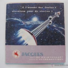 Coleccionismo Álbum: ALBUM DE CROMOS COMPLETO SUPERCHOCOLAT JACQUES L'ASTRONAUTIQUE.. Lote 47972431