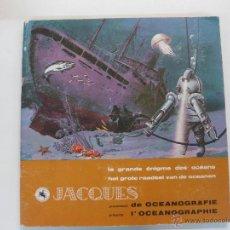 Coleccionismo Álbum: ALBUM DE CROMOS COMPLETO SUPERCHOCOLAT JACQUES L'OCEANOGRAPHIE.. Lote 47972448