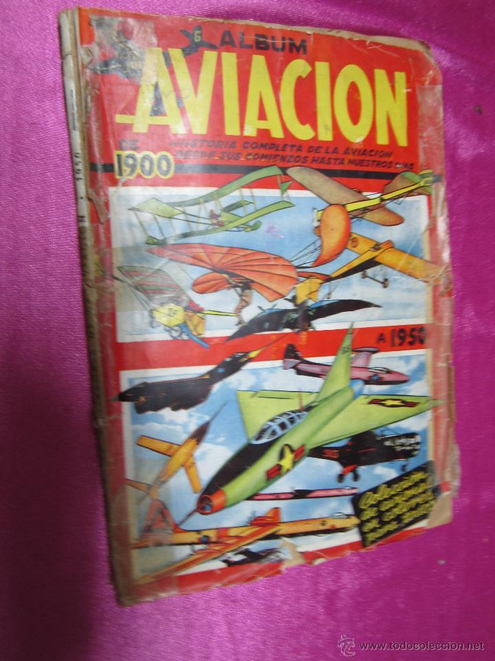 ALBUM AVIACION DE 1900 A 1950 COMPLETO .CLIPER (Coleccionismo - Cromos y Álbumes - Álbumes Completos)