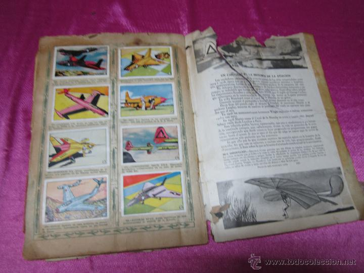 Coleccionismo Álbum: ALBUM AVIACION DE 1900 A 1950 COMPLETO .CLIPER - Foto 5 - 47972640
