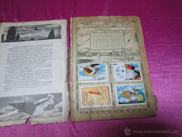 Coleccionismo Álbum: ALBUM AVIACION DE 1900 A 1950 COMPLETO .CLIPER - Foto 6 - 47972640
