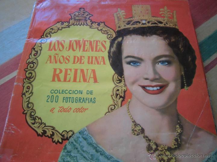 ROMY SCHNEIDER EN LOS JOVENES AÑOS DE UNA REINA ALBUM CON 200 CROMOS COMPLETO (Coleccionismo - Cromos y Álbumes - Álbumes Completos)