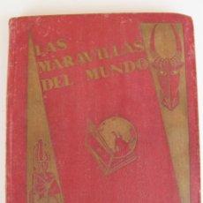 Coleccionismo Álbum: LAS MARAVILLAS DEL MUNDO DE NESTLE 1932 ALBUM COMPLETO 480 CROMOS 40 SERIES DE 12 CROMOS. Lote 48149263