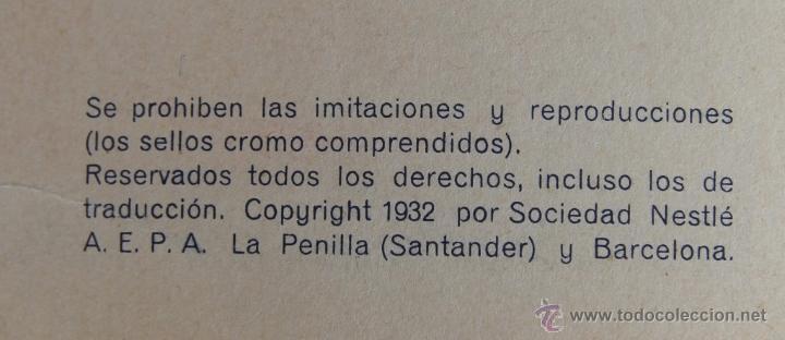Coleccionismo Álbum: LAS MARAVILLAS DEL MUNDO DE NESTLE 1932 ALBUM COMPLETO 480 CROMOS 40 SERIES DE 12 CROMOS - Foto 4 - 48149263