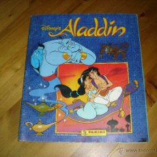 Coleccionismo Álbum: ALBUM DE CROMOS: ALADDIN - PANINI. COMPLETO. Lote 48324934