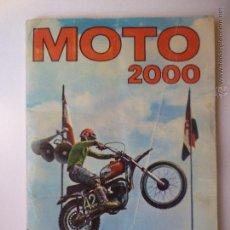 Coleccionismo Álbum: ALBUM COMPLETO MOTO 2000 EDICIONES VULCANO S.A. AÑO 1973. Lote 48362347