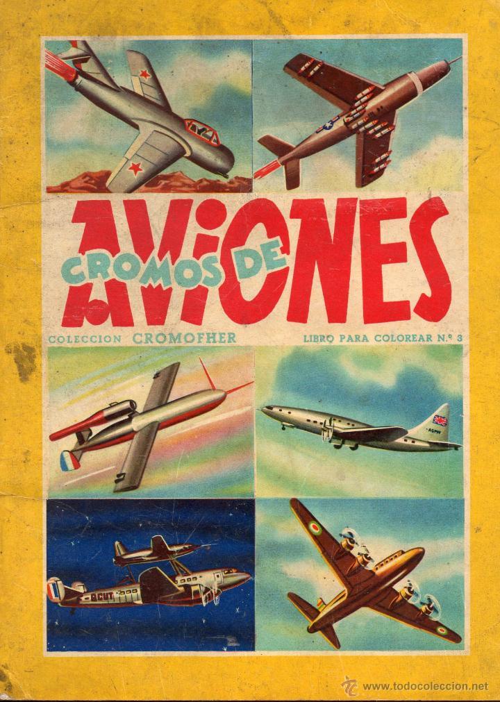 album cromos nº 3 cromofher aviones (incompleto - Comprar Álbumes ...