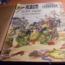 Coleccionismo Álbum: 20000 VEINTE MIL LEGUAS DE VIAJE SUBMARINO. ALBUM 2 COMPLETO (CHOCOLATES LLOVERAS) (AB-1).. Lote 48525721
