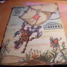 Coleccionismo Álbum: DON QUIJOTE DE LA MANCHA. CHOCOLATES LLOVERAS. ALBUM COMPLETO (AB-1). Lote 48543173