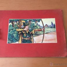 Coleccionismo Álbum: ALBUM DE CROMOS COMPLETO ROBIN HOOD ERROL FLYNN DE 1939 FRANCIA. Lote 257947000