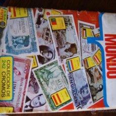 Coleccionismo Álbum: ALBUM COLECCION BILLETES DEL MUNDO COMPLETO. Lote 48773379