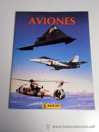 ALBUM CROMOS COMPLETO AVIONES PANINI CARDS AIRCRAFT AIRPLANE ALFREEDOM ALBUN (Coleccionismo - Cromos y Álbumes - Álbumes Completos)