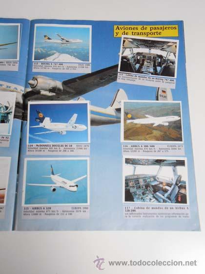Coleccionismo Álbum: ALBUM CROMOS COMPLETO AVIONES PANINI CARDS AIRCRAFT AIRPLANE alfreedom albun - Foto 2 - 48868396