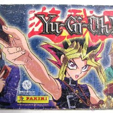 Coleccionismo Álbum: ALBUM COMPLETO 120 CROMOS YUGIOH YU GI OH ! PANINI KAZUKI TAKAHASHI MANGA ANIME AÑO 1996. Lote 49079368