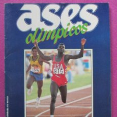 Coleccionismo Álbum: ALBUM CROMOS, ASES OLIMPICOS, AS, COMPLETO,. Lote 49095375