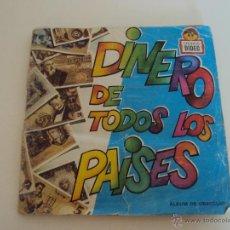 Coleccionismo Álbum: ALBUM DINERO DE TODOS LOS PAISES. Lote 49287192