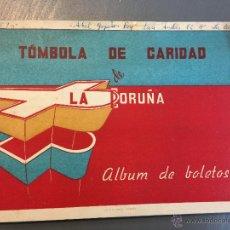 Colecionismo Caderneta: ALBUM TOMBOLA DE LA CARIDAD DE LA CORUÑA - AÑOS 50 (COMPLETO). Lote 49380604