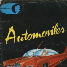 Coleccionismo Álbum: AUTOMOVILES. JUFE 1962. Lote 49410208