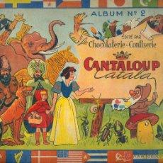 Coleccionismo Álbum: NUMULITE L0163 CANTALOUP CATALA LA CHOCOLATERIE CONFISERIE ALBUM Nº 2 SIRVEN IMPRIMEUR TOULOUSE. Lote 49427075