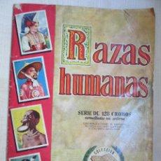 Coleccionismo Álbum: RAZAS HUMANAS 1ª SERIE 1956 EDITORIAL BRUGUERA. Lote 49464099