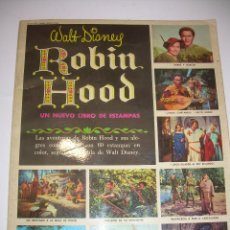 Coleccionismo Álbum: ALBUM COMPLETO...ROBIN HOOD......60 CROMOS...36 PAGINAS....EDICIONES SUSAETA, S.A.. Lote 49465249