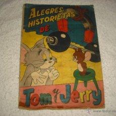 Coleccionismo Álbum: ALEGRES HISTORIETAS DE TOM Y JERRY. COMPLETO A FALTA DEL CROMO Nº 77. Lote 49514705