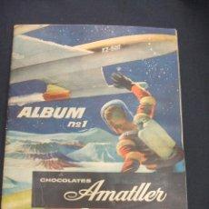Coleccionismo Álbum: ALBUM DE CROMOS COMPLETO - ALBUM Nº 1 - CHOCOLATES AMATLLER - . Lote 49526811