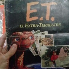 Coleccionismo Álbum: ALBUM CROMOS ET EL EXTRATERRESTRE. Lote 49548530