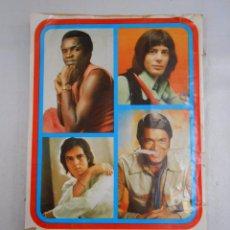 Coleccionismo Álbum: ALBUM DE CROMOS FAMOSOS DE LA CANCION. 196 CROMOS COMPLETO. TDKC5. Lote 49563415
