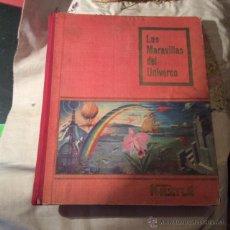 Coleccionismo Álbum: LAS MARAVILLAS DEL UNIVERSO DE NESTLE.. Lote 49564182