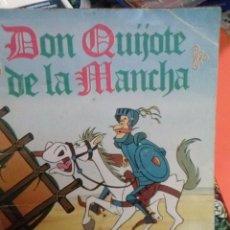 Coleccionismo Álbum: ALBUM DON QUIJOTE DANONE COMPLETO. Lote 49604393