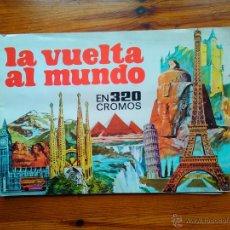 Coleccionismo Álbum: ALBUM LA VUELTA AL MUNDO, DE BRUGUERA (1971). COMPLETO, 320 CROMOS. EN MUY BUEN ESTADO. Lote 49658393