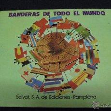 Coleccionismo Álbum: ALBUM DE CROMOS. BANDERAS DE TODO EL MUNDO. COMPLETO. SALVAT.. Lote 49660206