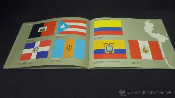 Coleccionismo Álbum: ALBUM DE CROMOS. BANDERAS DE TODO EL MUNDO. COMPLETO. SALVAT. - Foto 6 - 49660206