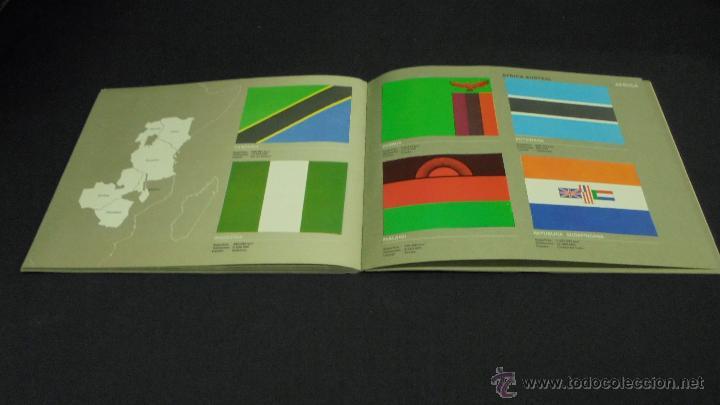 Coleccionismo Álbum: ALBUM DE CROMOS. BANDERAS DE TODO EL MUNDO. COMPLETO. SALVAT. - Foto 7 - 49660206