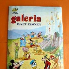Coleccionismo Álbum: ÁLBUM GALERÍA WALT DISNEY - EDITORIAL FHER - 1972 - COMPLETO. Lote 49715706