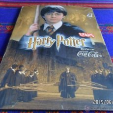 Coleccionismo Álbum: HARRY POTTER COMPLETO 40 STAKS IMANES. COCA COLA 2001. . Lote 49875466
