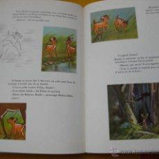 Coleccionismo Álbum: ÁLBUM CROMOS CENICIENTA/ BAMBI WALT DISNEY CHOCOLAT TOBLER COMPLETO AÑOS 50 CARTONÉ. Lote 49880196