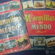 Coleccionismo Álbum: MARAVILLAS DEL MUNDO ÁLBUM I Y ÁLBUM II COLECCION CULTURA SERIE III. Lote 49915889
