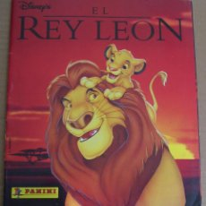 Coleccionismo Álbum: EL REY LEON - DISNEY - PANINI ALBUM COMPLETO. Lote 50061424