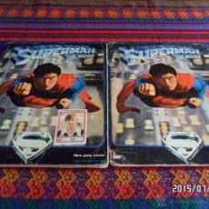 Coleccionismo Álbum: SUPERMAN 1 THE MOVIE COMPLETO 180 CROMOS. 2 ÁLBUMES. FHER 1979.. Lote 50215778