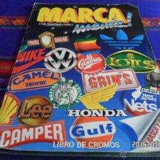 Coleccionismo Álbum: MARCA MANÍA COMPLETO 205 CROMOS. ESTE 1987. . Lote 50215930
