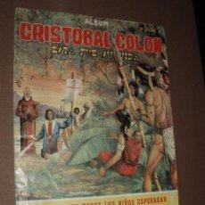Coleccionismo Álbum: ALBUM CRISTOBAL COLON ESTA FUE SU VIDA,COSTA GIGARPE COMPLETO. Lote 50242627