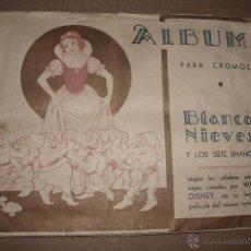 Coleccionismo Álbum: ALBUM BLANCANIEVES FHER,COMPLETO. Lote 52922877