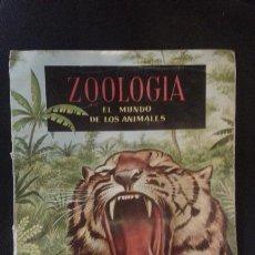 Coleccionismo Álbum: ALBUM 1961 ZOOLOGIA EL MUNDO DE LOS ANIMALES. EDICIONES FERCA. COMPLETO. Lote 50422150