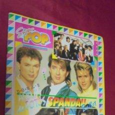 Coleccionismo Álbum: SUPER POP. ALBUM DE FOTOS SPANDAU BALLET Y DURAN. COMPLETO.. Lote 50470061