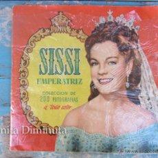 Coleccionismo Álbum: ANTIGUO ALBUM COMPLETO DE SISSI EMPERATRIZ - EN MUY BUEN ESTADO - CROMOS BIEN PEGADOS - EDITORIAL BR. Lote 50520456