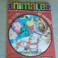 Coleccionismo Álbum: ALBUM DE CROMOS ANIMALES DE TODO EL MUNDO , COMPLETO -FHER-. Lote 50651690