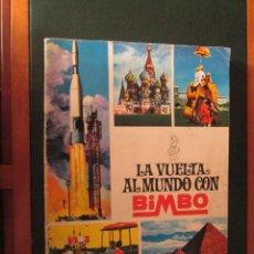 Coleccionismo Álbum: LA VUELTA AL MUNDO CON BIMBO COMPLETO. Lote 50658465